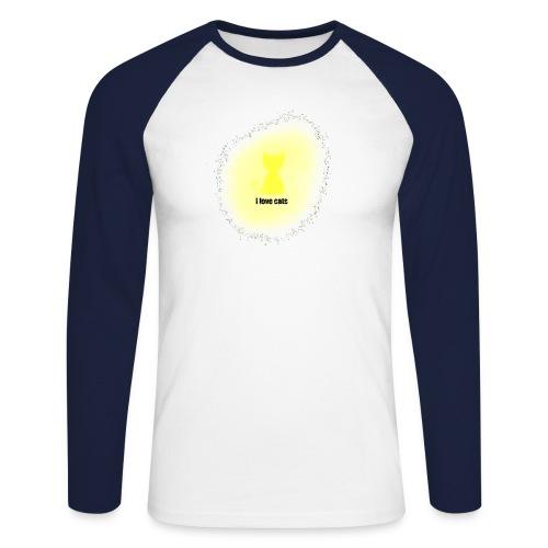 Sand cat - Men's Long Sleeve Baseball T-Shirt