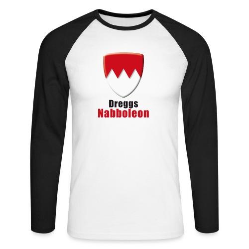 tshirt_franken_dreggsnaboleon_ohne_frank - Männer Baseballshirt langarm