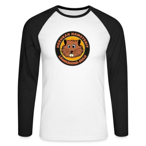 Herukan Hamsterit - Miesten pitkähihainen baseballpaita