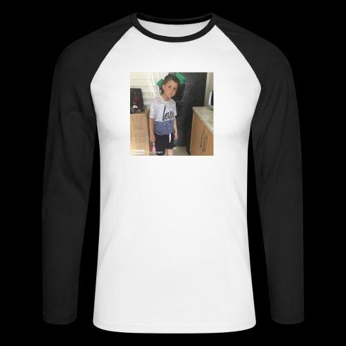 IMG 0463 - Men's Long Sleeve Baseball T-Shirt