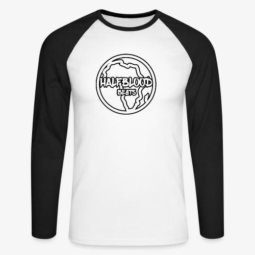 halfbloodAfrica - Mannen baseballshirt lange mouw