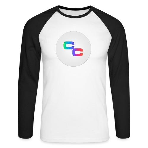 Callum Causer Rainbow - Men's Long Sleeve Baseball T-Shirt