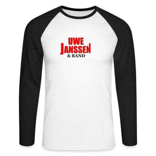 Logo jpg - Männer Baseballshirt langarm