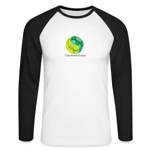 Cinewood Green - Men's Long Sleeve Baseball T-Shirt