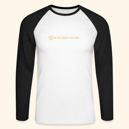 Rudelhilfe Logo - Männer Baseballshirt langarm