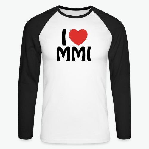 I love MMI - T-shirt baseball manches longues Homme