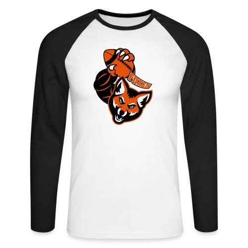 Foxes Rugby - T-shirt baseball manches longues Homme