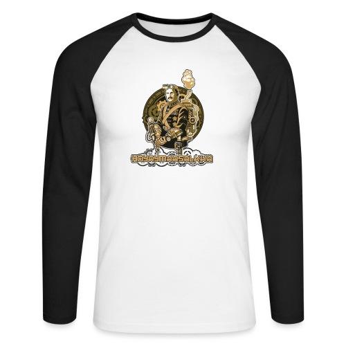 Höyrymarsalkan hienoakin hienompi t-paita - Miesten pitkähihainen baseballpaita