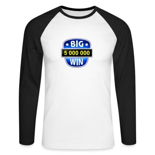 Big Win - Men's Long Sleeve Baseball T-Shirt
