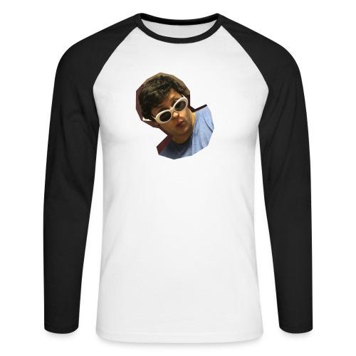 Handsome Person on Clothing - Männer Baseballshirt langarm