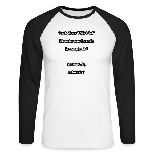Schnucki - Männer Baseballshirt langarm