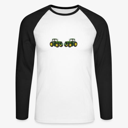 Bauern - Männer Baseballshirt langarm