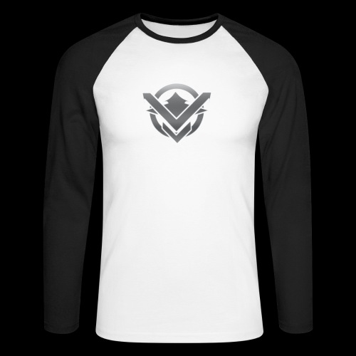 SVN Arts logo - Mannen baseballshirt lange mouw