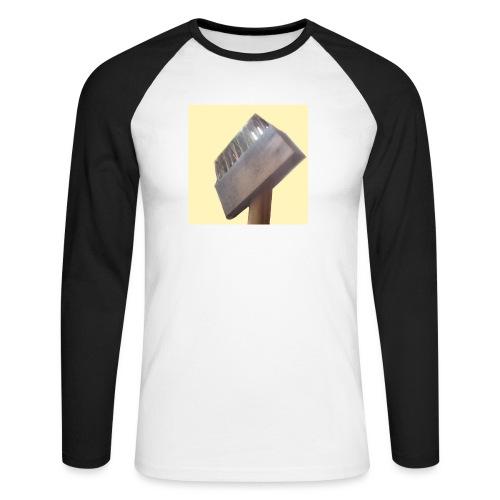 Klausens Unkrautbürste - Männer Baseballshirt langarm