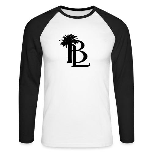 bllogo-png - Langærmet herre-baseballshirt