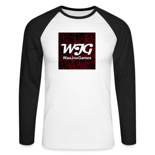 T-shirt WJG logo - Mannen baseballshirt lange mouw