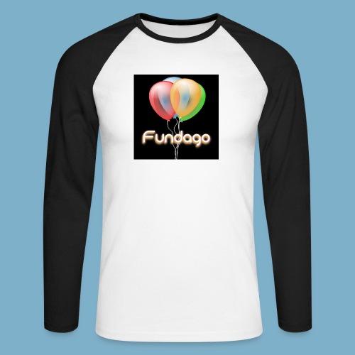 Fundago Ballon - Männer Baseballshirt langarm