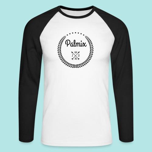 Palmix cup - Men's Long Sleeve Baseball T-Shirt
