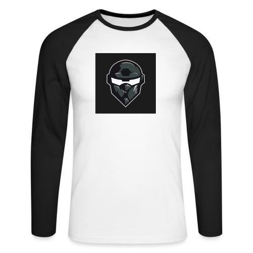 LogoMain2 - Langærmet herre-baseballshirt
