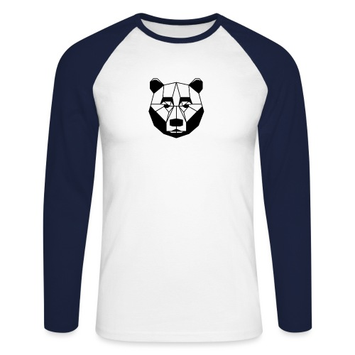 ours - T-shirt baseball manches longues Homme