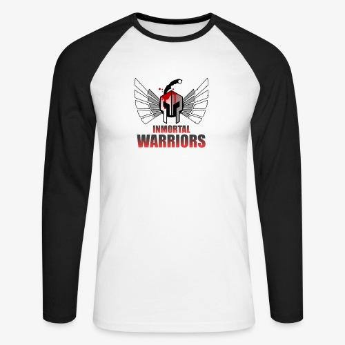 The Inmortal Warriors Team - Men's Long Sleeve Baseball T-Shirt