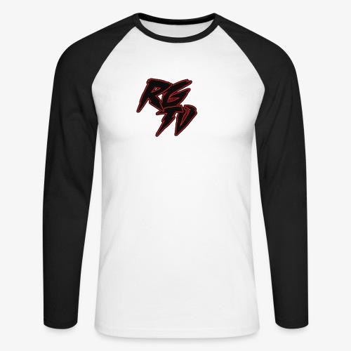 RGTV 2 - Men's Long Sleeve Baseball T-Shirt