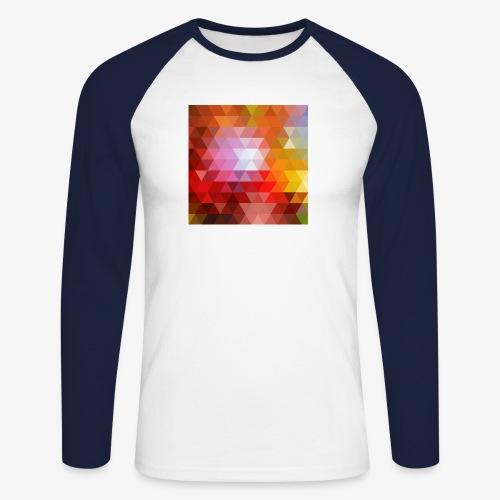 TRIFACE motif - T-shirt baseball manches longues Homme