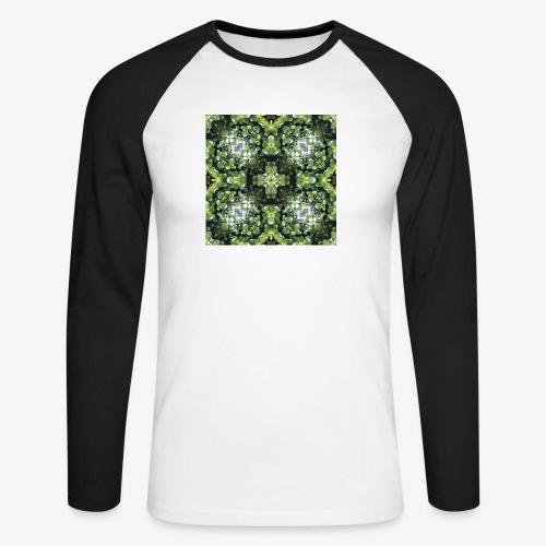 MOTIF L T4 Plt grasse - T-shirt baseball manches longues Homme