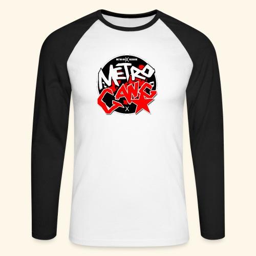 METRO GANG LIFESTYLE - Men's Long Sleeve Baseball T-Shirt