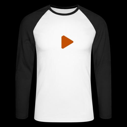 GVMP - White - Männer Baseballshirt langarm