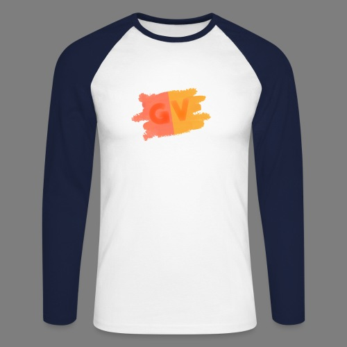 GekkeVincent - Mannen baseballshirt lange mouw