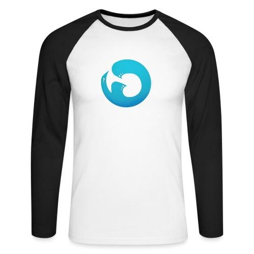 Logo iG | Team Esport - T-shirt baseball manches longues Homme