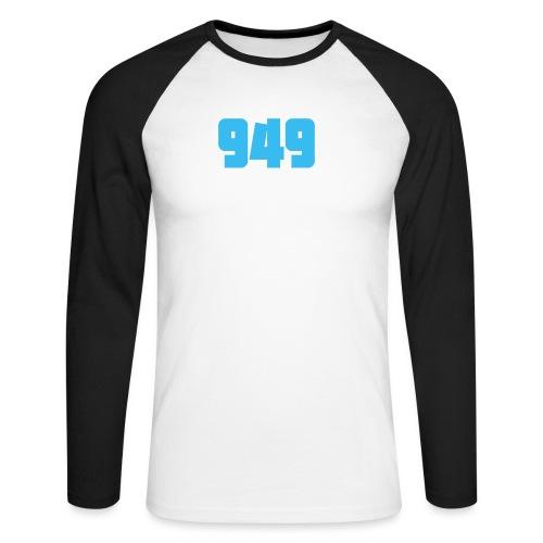 949blue - Männer Baseballshirt langarm