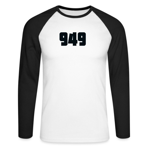 949black - Männer Baseballshirt langarm