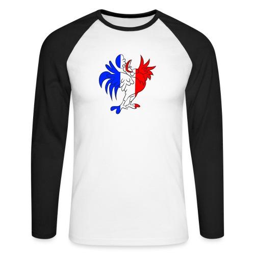 Coq France - T-shirt baseball manches longues Homme