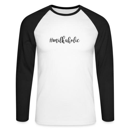 #milkaholic - Babybody - Männer Baseballshirt langarm