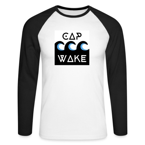 Logo_officiel assoc - T-shirt baseball manches longues Homme