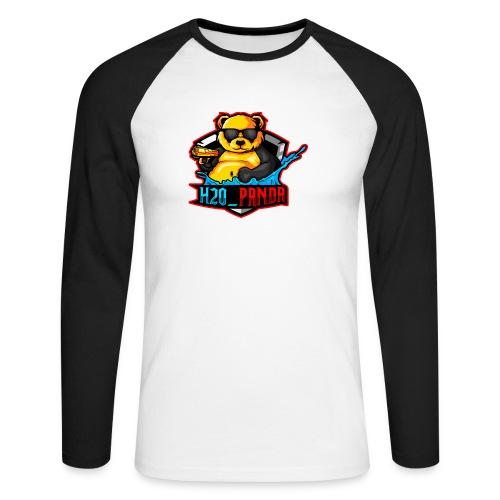 Pandas Loga - Långärmad basebolltröja herr