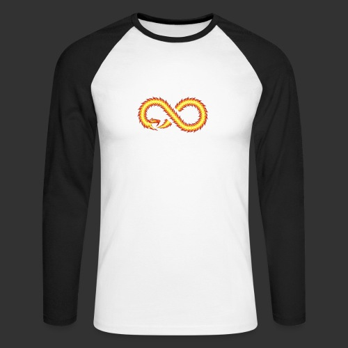 Infinity Snake - T-shirt baseball manches longues Homme