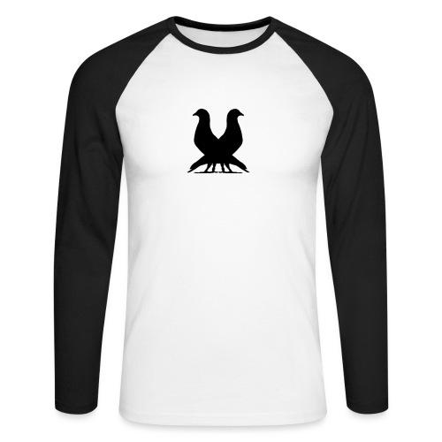 2PIGEONS - Men's Long Sleeve Baseball T-Shirt
