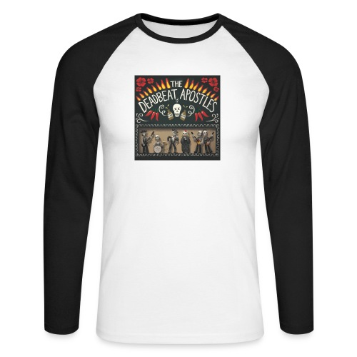 The Deadbeat Apostles - Men's Long Sleeve Baseball T-Shirt