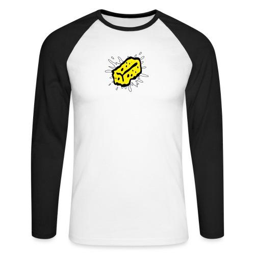 SF Schwamm png - Männer Baseballshirt langarm