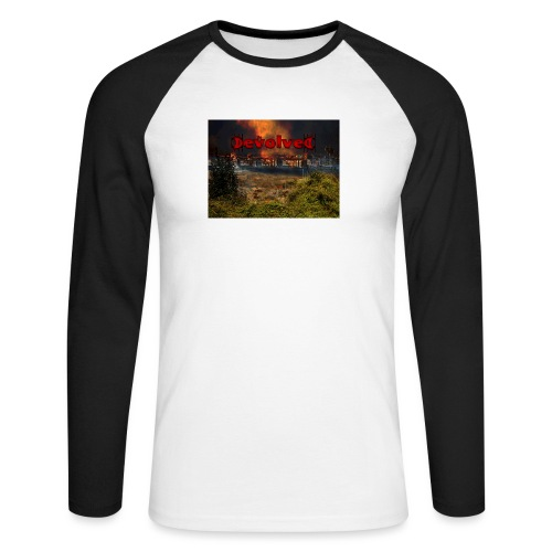 The Devolved Long TS1 - Men's Long Sleeve Baseball T-Shirt