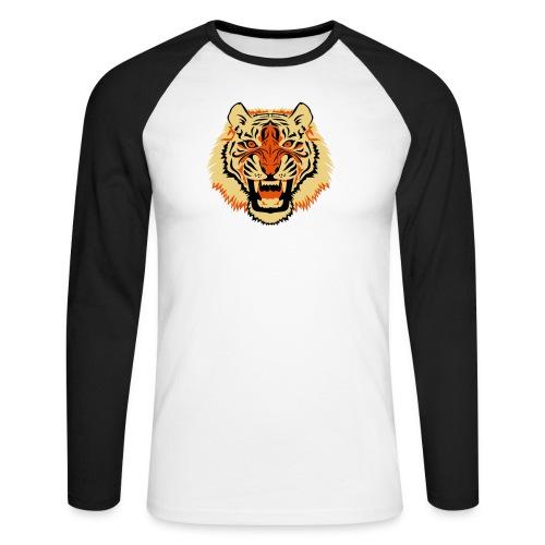 Tiger - Mannen baseballshirt lange mouw