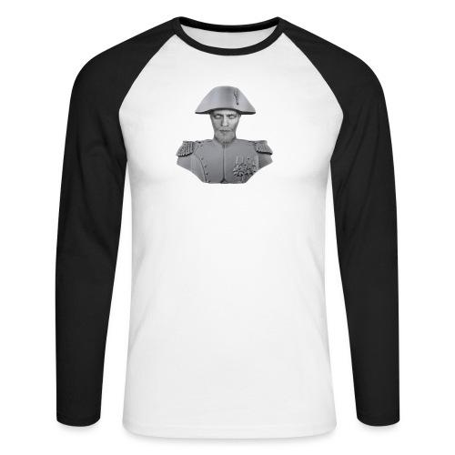 ShimmyMC Napoleon T-Shirts - Männer Baseballshirt langarm