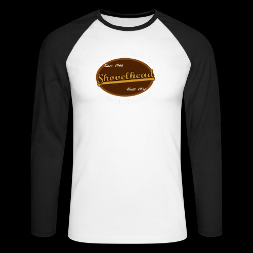 Milwaukee Shovelhead - Männer Baseballshirt langarm
