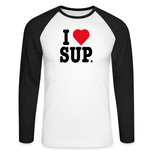 ilovesup. - T-shirt baseball manches longues Homme