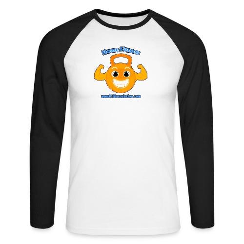 Logo 01Musculation Home Fitness Kettlebell - T-shirt baseball manches longues Homme