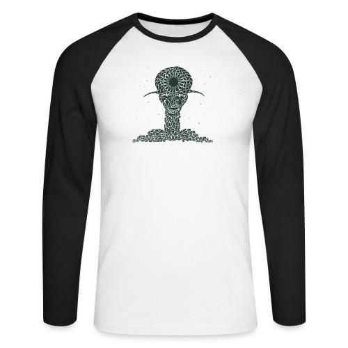Thanatos - Men's Long Sleeve Baseball T-Shirt