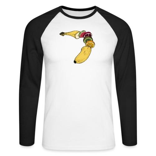 Fruitana - Männer Baseballshirt langarm